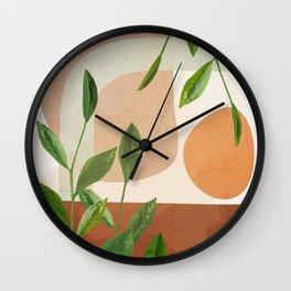 Nature Geometry XI Wall Clock