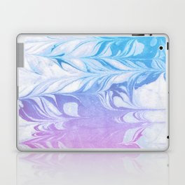 Nanaha - spilled ink abstract painting watercolor water marble marbled cell phone case japanese Laptop & iPad Skin