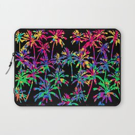 Multi Color Palm Trees - Tropic Like It's Hot Laptop Sleeve