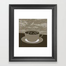 GOOD MORNING 08 Framed Art Print
