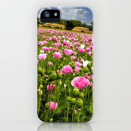 Poppy fields in Holland iPhone Case