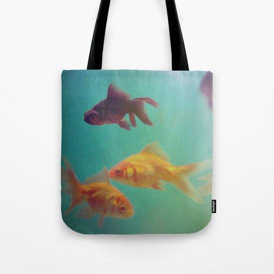 Three Fish More fish Tote Bag
