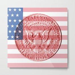 USA – Half Dollar 1964 – Back Metal Print