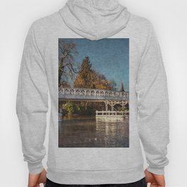 The Toll Bridge At Whitchurch-on-Thames Hoody