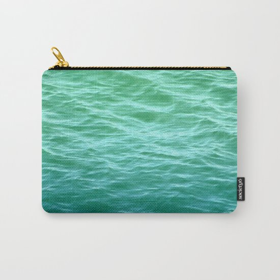 Teal Sea Carry-All Pouch