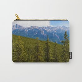 Collin Range as seen from the Palisades in Jasper National Park, Canada Carry-All Pouch