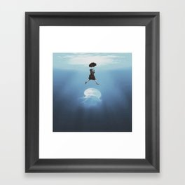 Swerve Framed Art Print