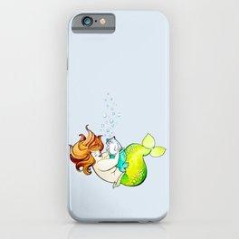 Mermaid & Merkitty iPhone Case
