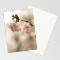 Cherry Blossoms Bloom in Spring Stationery Cards