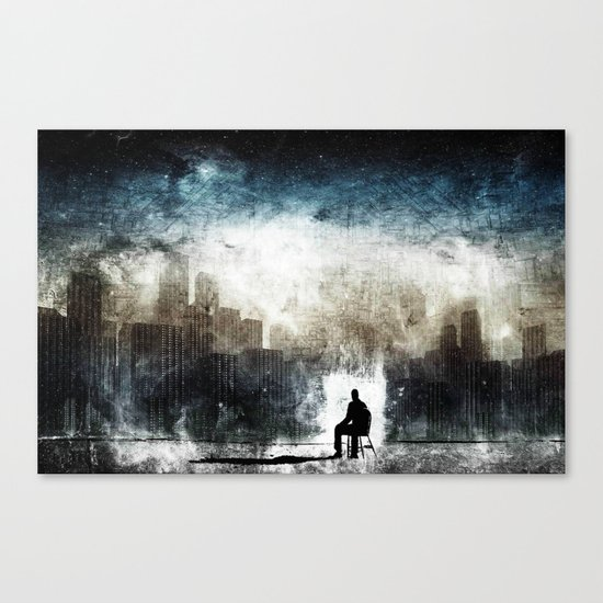 City Thoughts Canvas Print
