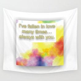 Fallin in Love Wall Tapestry