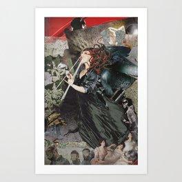 Modern Medusa Art Print