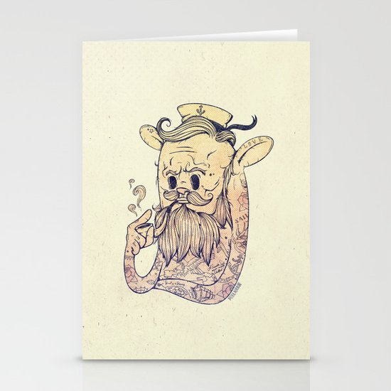 Hello Sailor!! Stationery Cards