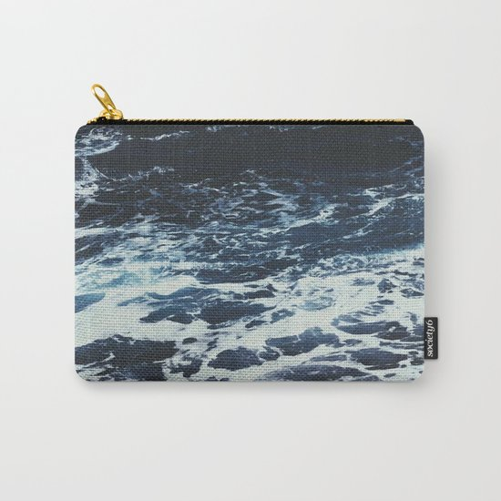 Dark Ocean Carry-All Pouch