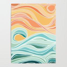 Sea and Sky II Poster