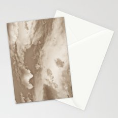Sepia Summer Skies Stationery Cards