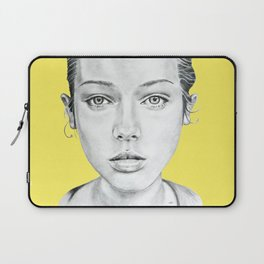 Lady Portrait Laptop Sleeve
