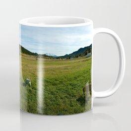 Mount Sopris and Puppies - Glenwood Springs, CO Coffee Mug