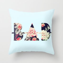 B∆D   Floral Throw Pillow