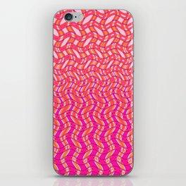 Pink Tangerine Twist iPhone Skin