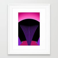 hollywood Framed Art Prints featuring Hollywood by Need Some Inspiration