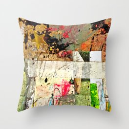 Rolled Gold Throw Pillow