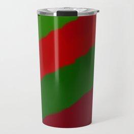 Red and Green Christmas Gift Travel Mug