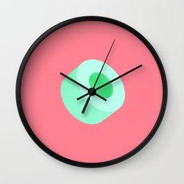 Green Tube Wall Clock