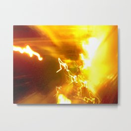 Exposing The Infinite Metal Print