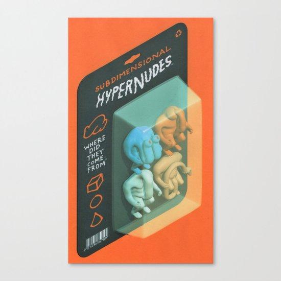 Subdimensional Hypernudes Canvas Print