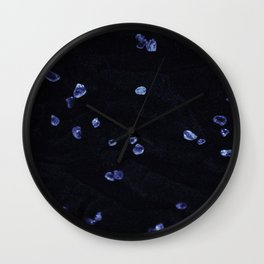Blue Gem 1 Wall Clock