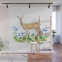 Sweet Deer Wall Mural