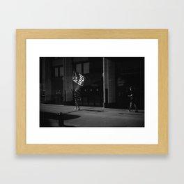 Chicago Celebration. Framed Art Print