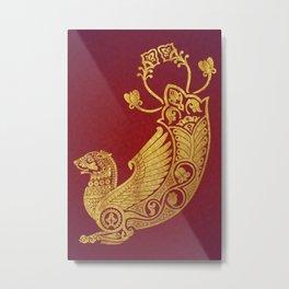 Simurgh Metal Print