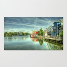 Lincoln Waterfront Canvas Print