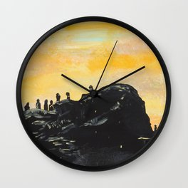 Trench Wall Clock