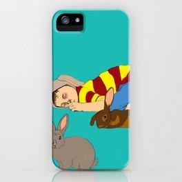 Bunny Boy iPhone Case