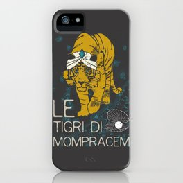 Books Collection: Sandokan, The Tigers of Mompracem iPhone Case