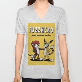 Fuzzhead Unisex V-Neck