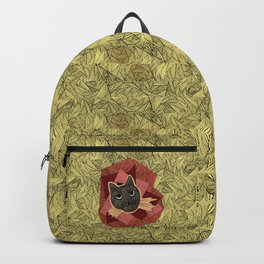 Cattitude: A cat with an attitude Backpack