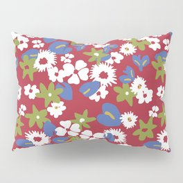 Modern bold liberty print Pillow Sham
