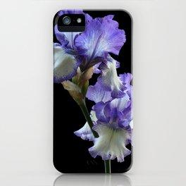 Purple Iris iPhone Case