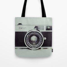 Film Camera Love: Canon Tote Bag