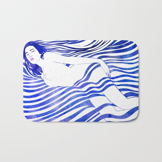 Water Nymph XIV Bath Mat