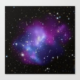 Galaxy Cluster MACS Canvas Print