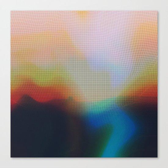 Glitch 07 Canvas Print
