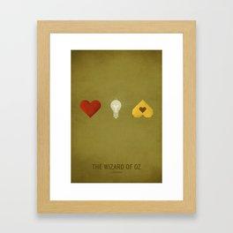 Oz (Kid Friendly) Framed Art Print