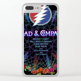 DEAD COMPANY WORLD TOUR DATES 2019 IPIN Clear iPhone Case