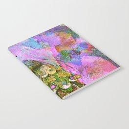 Peacock Watercolor Notebook