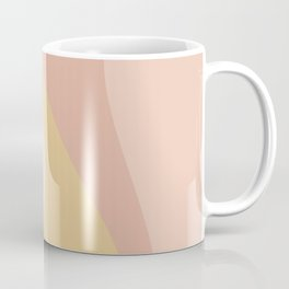 Abstract Color Waves - Neutral Pastel Coffee Mug